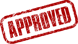 approval stamp with blog on How to Lease a home in Texas